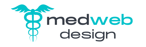 medical website design logo mobile